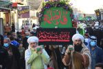 تصاویر: تشیع نمادین پیکر حضرت زهرا سلام الله علیها در دفاتر مرجع عالیقدر شیخ محمد یعقوبی در عراق